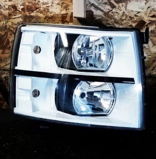 Chevy Silverado Custom Headlights Auto Parts In