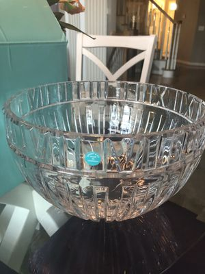Vintage Tiffany&Co.Crystal Punch Bowl( never been used)