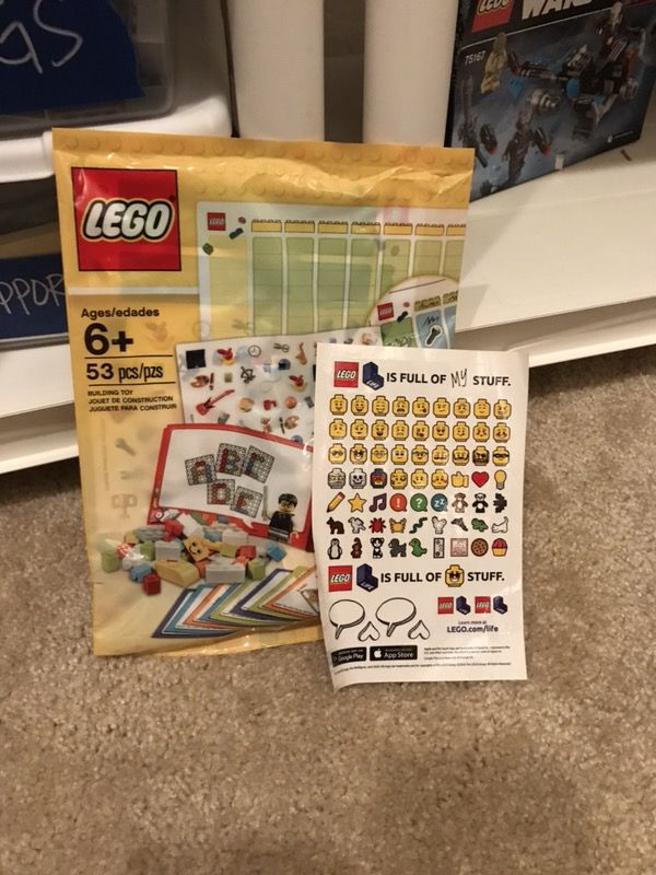 Lego Store Exclusive Lego Learning Set and stickers (Games & Toys ...