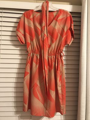 Silky shirt dress with pockets!