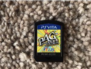 PS VITA game PERSONA GOLDEN