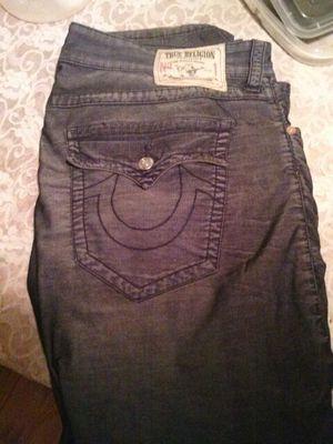 Ash Black True Religion Jeans