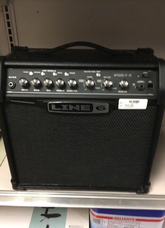 Line 6 Spider IV 15 Guitar Amp