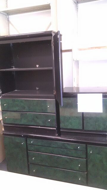 3 Piece Dark Green Dresser Set Furniture In Orlando Fl Offerup