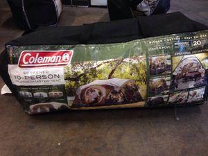 Coleman 10 person tent
