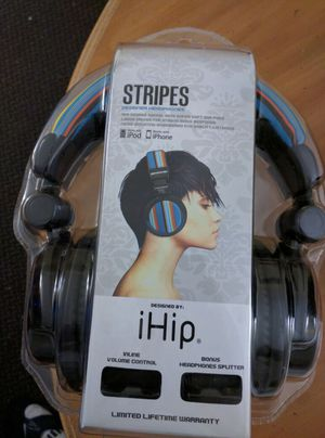 IHIP STRIPES DESIGNER HEADPHONES