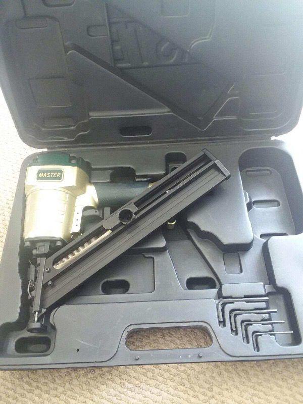 Pistola de framing nails gun