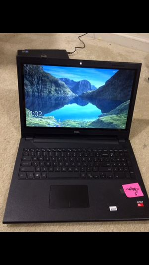 Dell Inspiron 15 5000 touch screen laptop