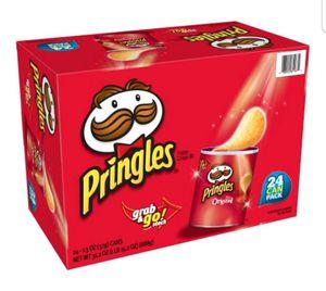 Pringles original grab n' go 1.3 oz, 24pk