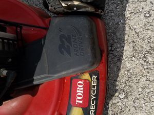 Toro self propelled heavy duty gas lawn mover