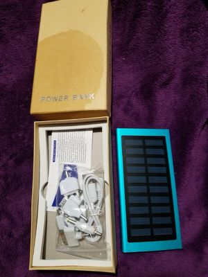 Smart quick wireless. Solar power bank Only $75 full price no negotiable