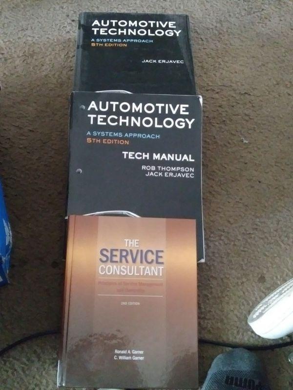 automotive service management book