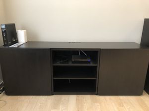 TV rack/media center - Excellent condition. Must pick up this weekend!