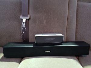 Bose Solo 5 Soundbar and Soundlink Mini
