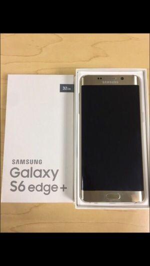 Samsung Galaxy S6 Edge Plus - Factory Unlocked - Comes w/ Box + Accessories