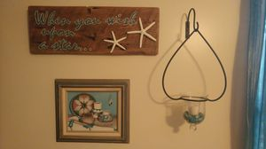 Hand Painted Barnwood Plaque