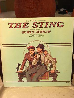 The Sting Soundtrack Vinyl