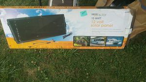 Solar panel opened box never used