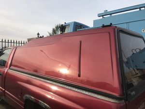 Camper shell long bed full size truck