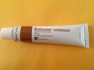 Butavate 25g Tube of Clobetasol Propionate 0.05% Ointment - Psoriasis - Eczema