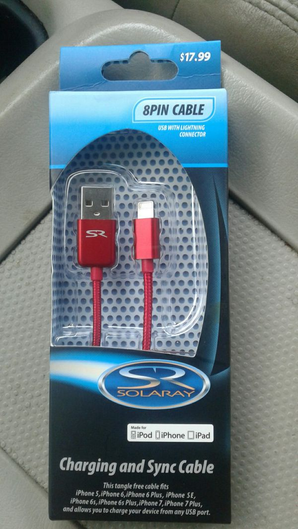 Charging and sync cable for iPod, iPhone and iPad (Cell Phones) in ...