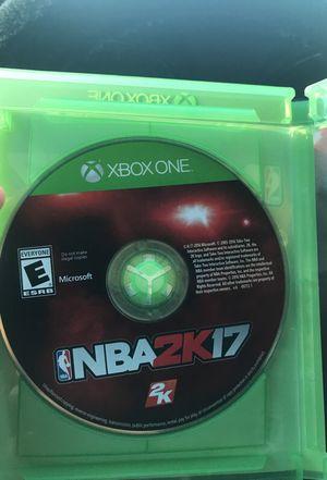 Xbox 1 - 2k17
