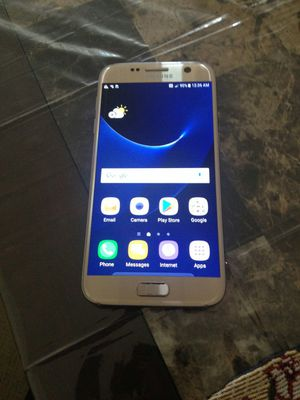 Gold Galaxy S7 fully unlocked no cracks asking for $150 or best offer must go