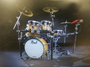 Pearl epro electric/acoustic drum set