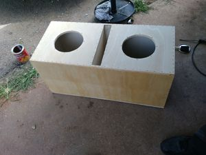 Custom built subwoofer boxs