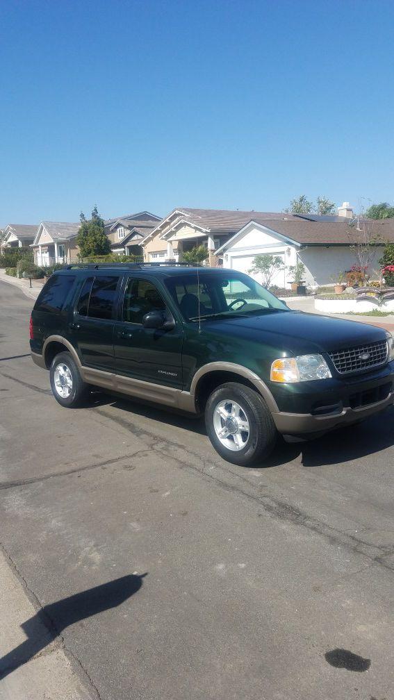 2002 ford explorer for 2 wheel drive v8 (cars & trucks) in yorba