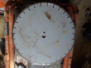 18 in .concrete blade