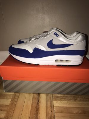 AIR MAX 1 (BLUE/RED) SIZE 10