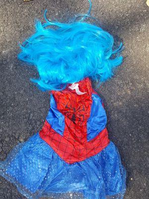 Toddler Girl Spider Girl costume