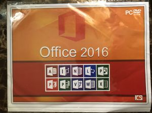 Microsoft Office 2016 ( full version with license)