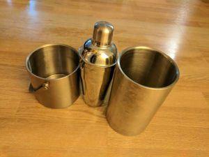 Cocktail Shaker + Ice Bucket