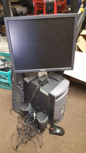 Dell Windows xp Desktop Computer