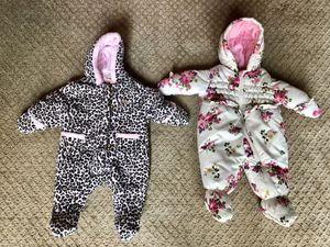 Baby snow suits new
