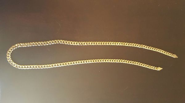 14k gold chain necklace broken clasp Jewelry Accessories in San