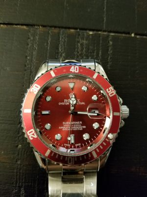 Red face watch