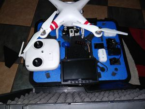 Phantom drone with gopro camera