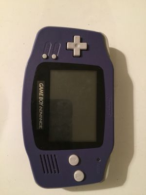 Gameboy Advance for sale or trade