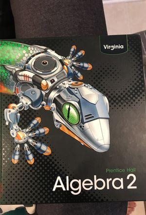 Algebra 2 Texbook