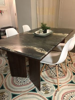 Scan Design marble top table