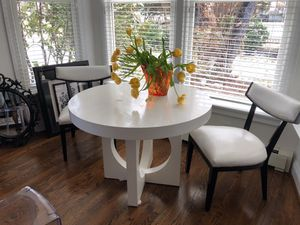 West Elm Table and Chairs