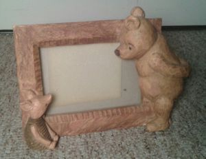 Winnie the Pooh Picture Frame by Charpente