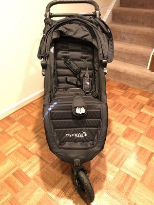 City Mini GT Black Stroller