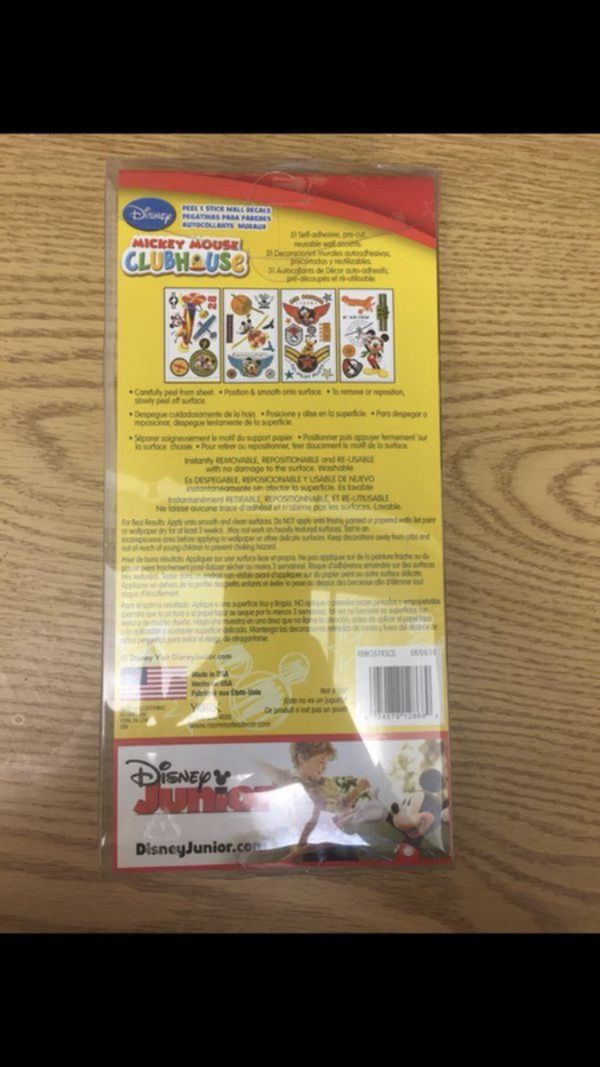 Mickey Mouse clubhouse wall decals (Baby & Kids) in Pinellas Park, FL