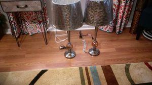 Lamps pair