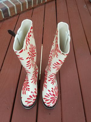 Used KATE SPADE Rubber Boots