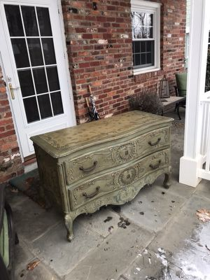 Solid Wood Two Drawer